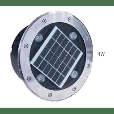 AG-IS-SOLAR-4W-BF Empotrable a Piso Solar IP65 Blanco Frio