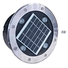 AG-IS-SOLAR-4W-BC Empotrable a Piso Solar IP65 Blanco Cálido