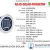 AG-IS-SOLAR-6W-BC Empotrable a Piso Solar IP65 Blanco Cálido