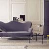 Q31126-BK Miró Mesa E26 Acab. Cristal Smoke/Metal