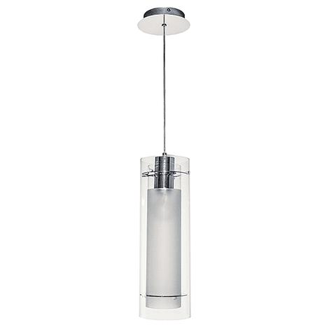Frost 1-Light Pendant E22000-10 Vidrio y Cromo E26