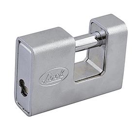 L22C80QCBB Candado de acero para cortina llave de puntos 80mm metálico Lock