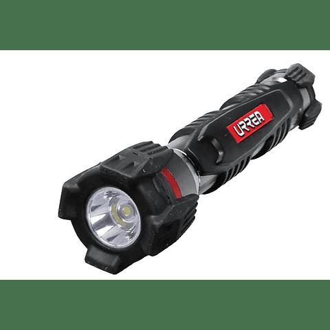 "7L2A Linterna 1 LED 2 pilas ""AA"" uso pesado Urrea"
