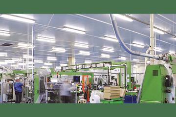 Factores a considerar en la iluminación industrial