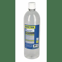 Gel Antibacterial Desinfectante 1 litro Marca Surtek  70% Alcohol GELA1