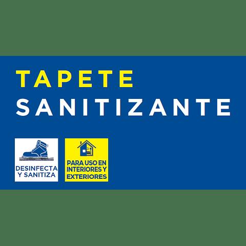 Tapete Sanitizante PVC 56cm largo antiderrapante TSAN Marca Surtek