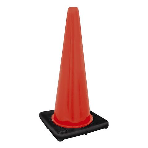 Cono de precaución 70 cm naranja Marca Surtek  137464