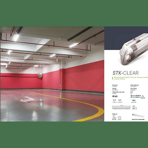 STK-CLEAR STANKA WATERPROOF DE POLICARB. TRANSPARENTE LED