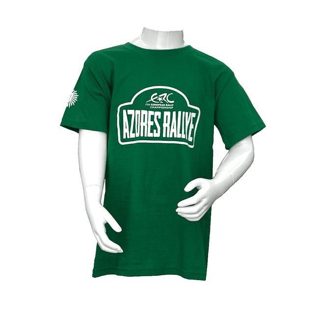 T-Shirt Criança - Azores Rallye