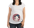 Camiseta De Mujer Embarazada bebe mago Baby Monster