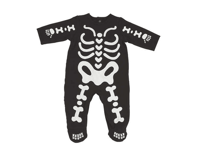 Ropa para bebe pijama huesitos  baby monster