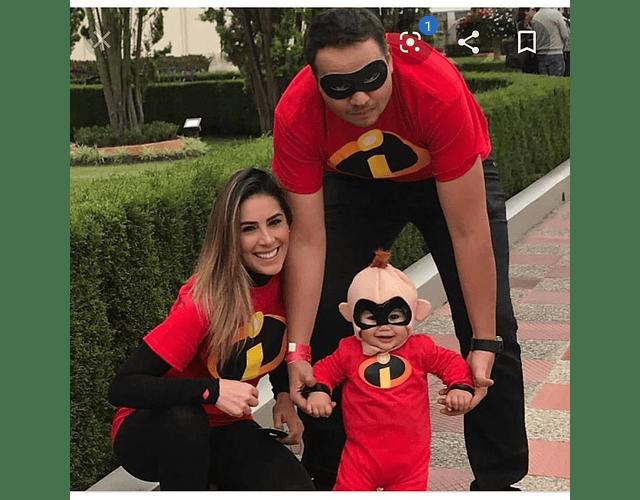 Halloween Tríos camisetas para Mamá  papá y bebe Familia Increibles