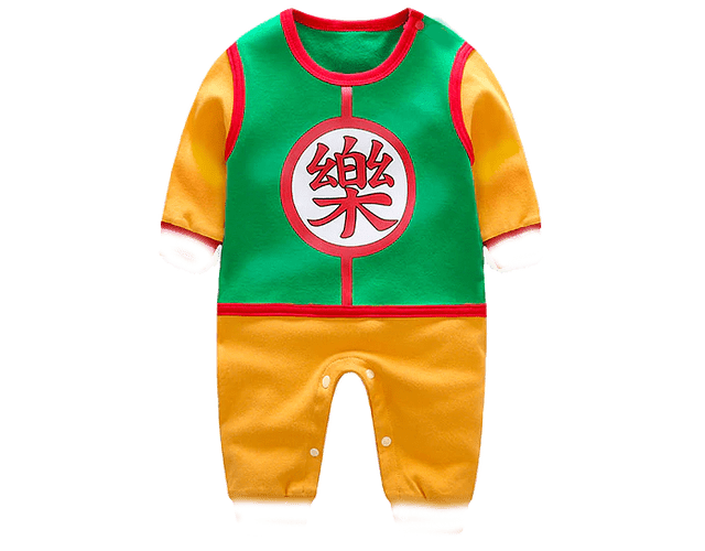 Ropa para bebe pijama Dragon ball Z Gohan baby monster
