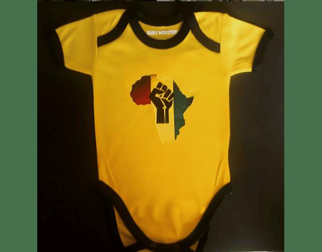Ropa Bebe Body Bodie África Reggae Baby Mosnter