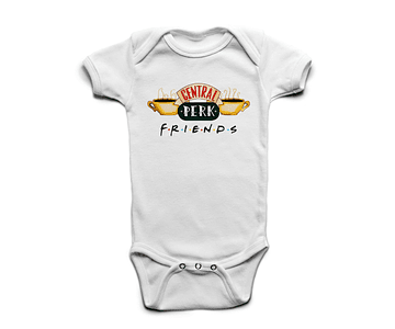 Ropa Bebe Body Bodie Friends Central Perk Baby Monster