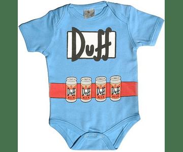 Ropa para bebe Bodi Los simpsons duffman baby monster