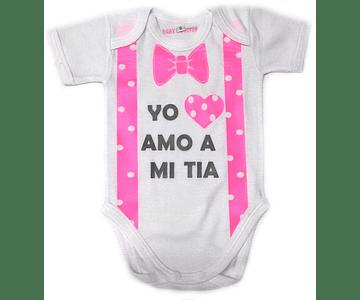 Ropa Para Bebe Body Bodie Amo A Mi Tia Baby Monster
