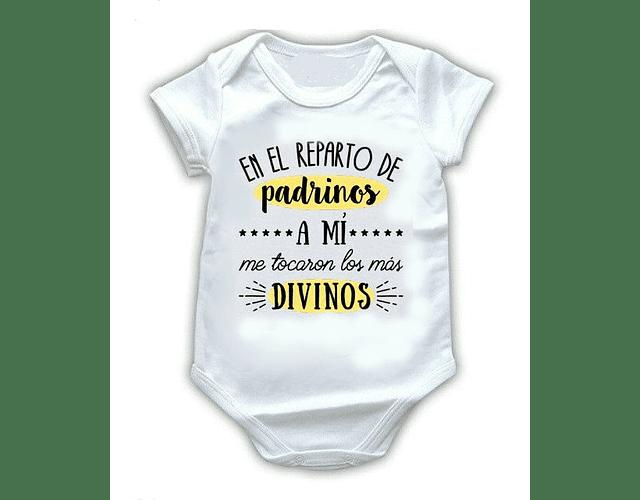Ropa Bebé Body Bodie Padrinos Divinos Baby Monster