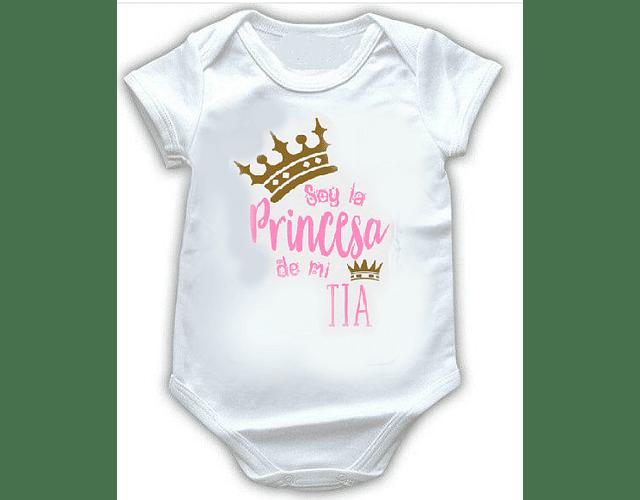 Ropa Bebé Body Bodie Princesa De Mi Tía Baby Monster