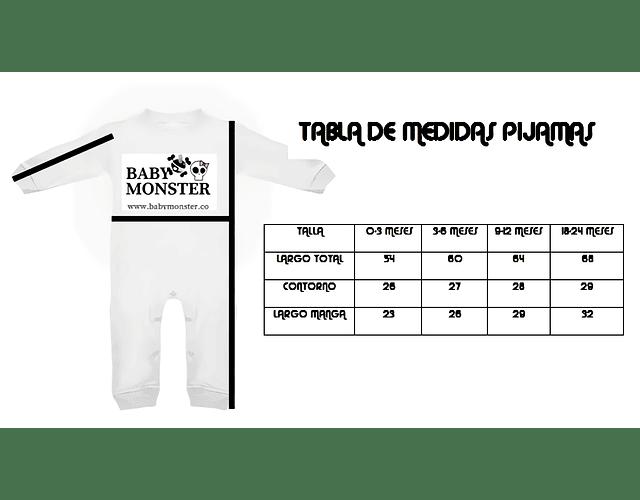 Ropa para bebe pijama huesitos  baby monster