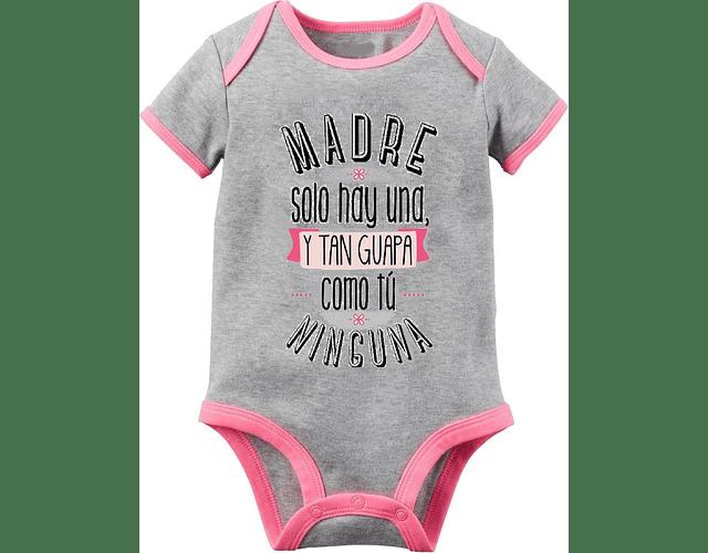 Ropa Para Bebe Niño Body Bodie Madre Como Tu Solo Hay Una