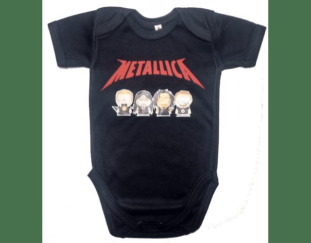 Ropa Para Bebé Body-Bodie Metallica South Park Baby Monster