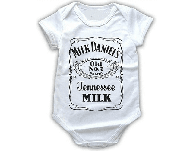 Ropa Bebe Body Bodie rock Milk Daniels Baby Monster