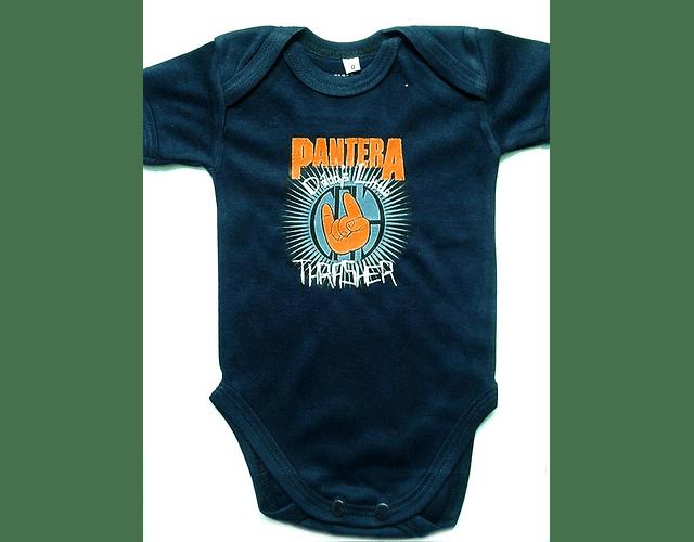 Ropa Para Bebe Body Bodi Rock Pantera Baby Monster