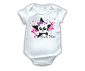 ropa para bebe body bodie calaverita rosa baby monster