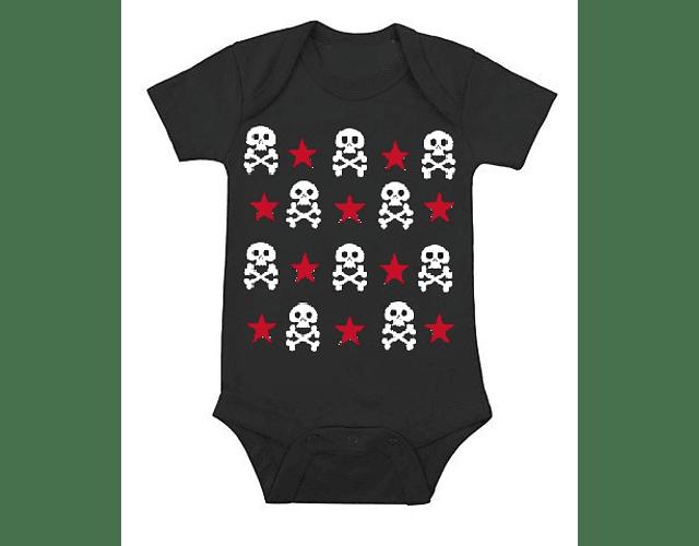 Ropa para Bebé Body Bodie Rock Calaveritas y Estrellas
