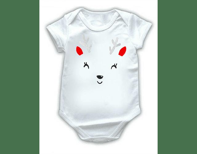 Ropa Bebe Body Bodi venado de navidad Baby Monster