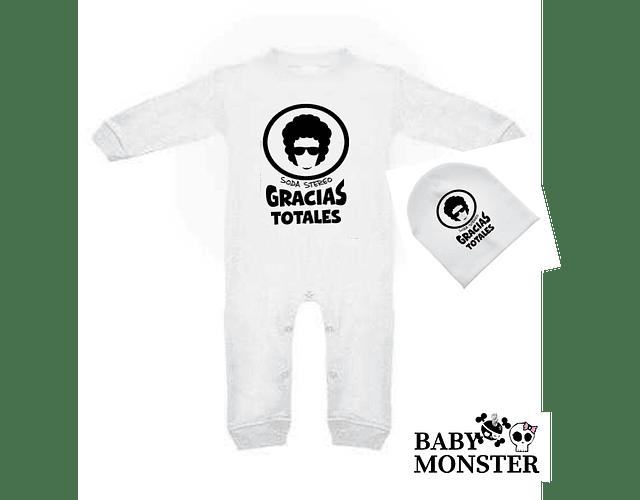 Ropa para bebe pijama Rock soda stereo  baby monster