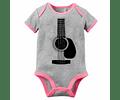Ropa Bebe Niña Body Bodie Guitarra Rock Baby Monster