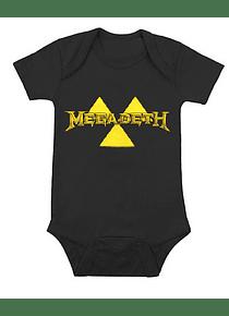 Ropa Para Bebe Body Bodie Rock Megadeth Baby Monster