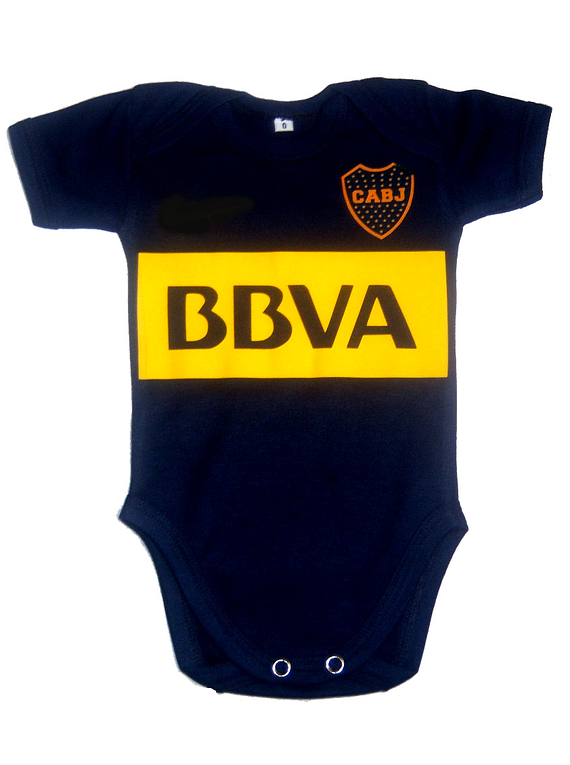 Ropa Bebe Body Bodi Boca juniors  Baby Monster
