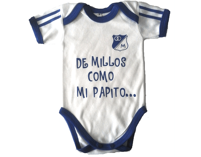 Ropa Bebe Body Bodie De Millos Como Mi Papito Baby Monster