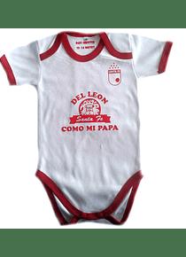 Ropa Para Bebe Body Bodie Futbol del santa fe como mi papa Baby Monster