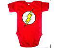 Ropa Para Bebe Body Flash Manga Corta Baby Monster