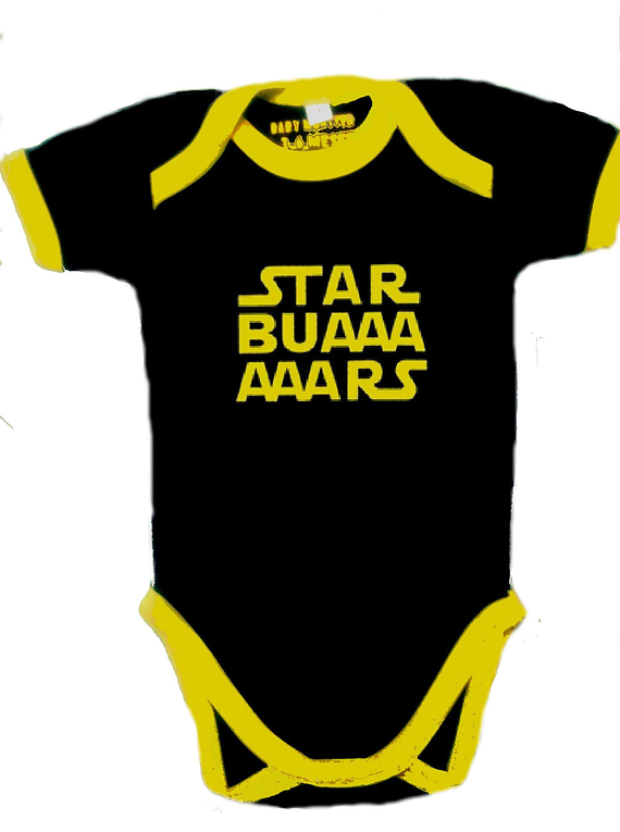 Ropa Para Bebe Body Bodie Star Buars Baby Monster