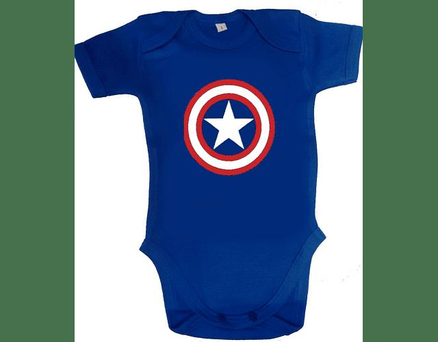 Body bodie Capitan America Clasico