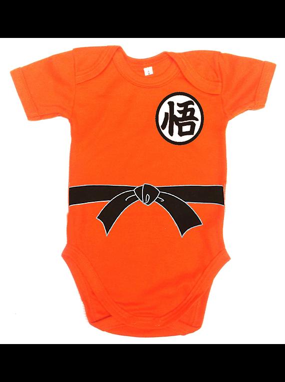 Ropa Para Bebe Body Bodie Goku Comic Baby Monster