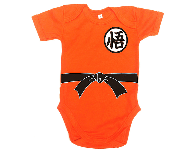 Ropa Para Bebe Body Bodie Dagon balla Z Goku Comic Baby Monster
