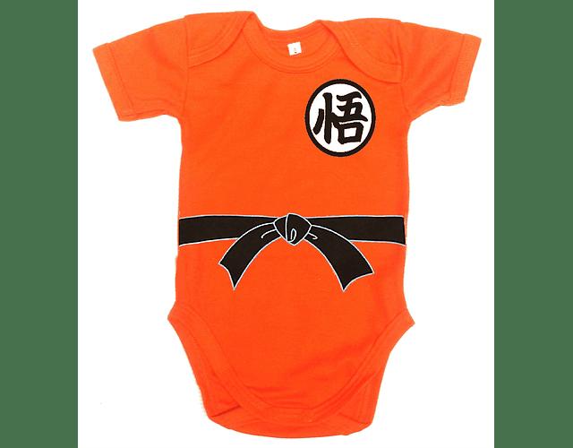 Ropa Para Bebe Body Bodie Dagon ball Z Goku Comic Baby Monster