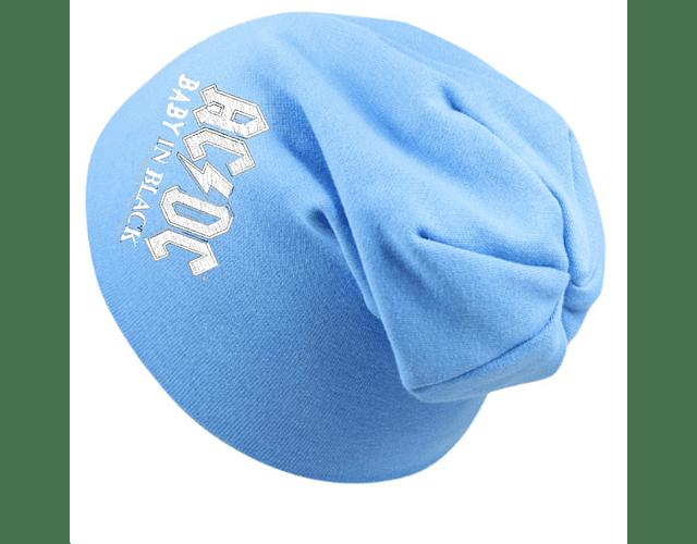 Ropa Bebe gorro rock AC/DC azul bebe Baby Monster