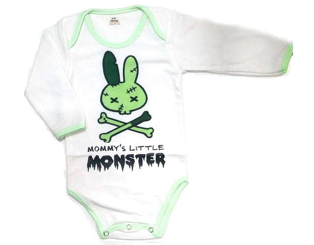 Body manga larga Mommys little baby monster
