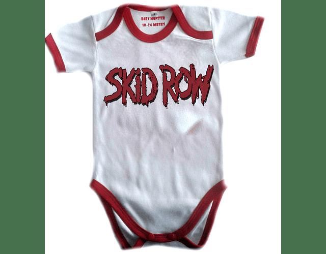 Ropa Bebe Body Bodie rock skid row Baby Monster