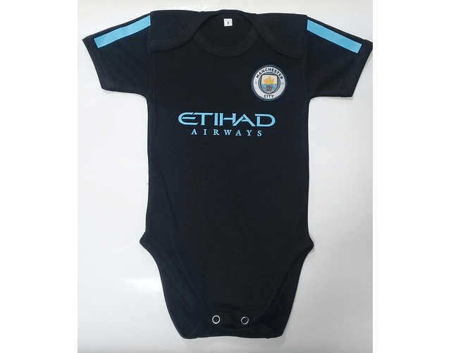 Ropa Para Bebe Body Bodie Futbol Manchester city Baby Monster