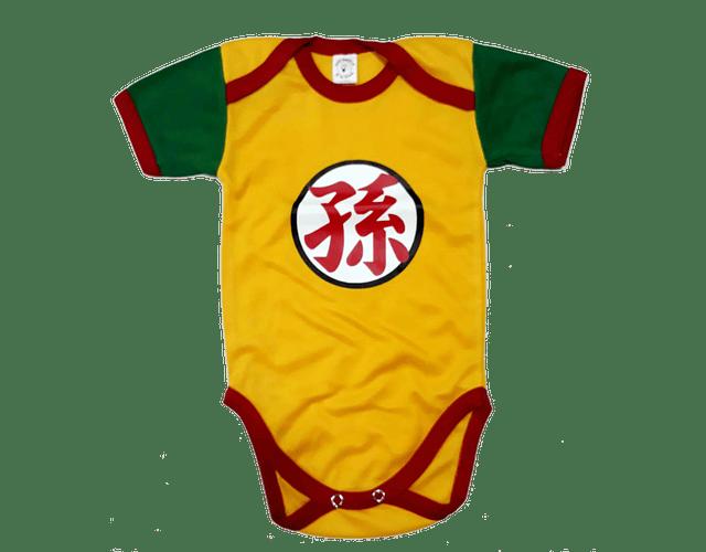 Ropa Para Bebe Body Bodie Dragon balla Z Gohan Comic Baby Monster
