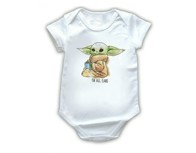 Ropa Para Bebe Body Bodie baby yoda star wars Comic Baby Monster