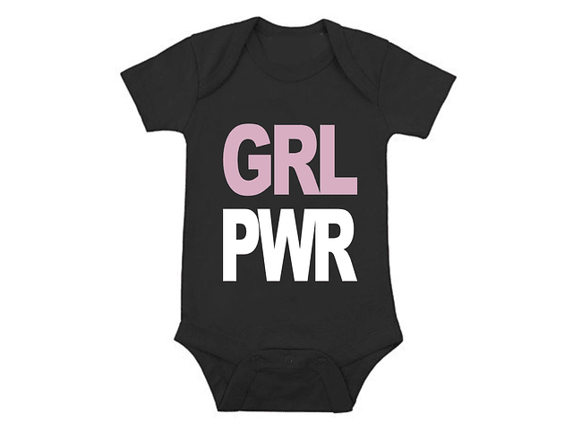 Ropa Bebe Body Bodie Girl power Baby Monster